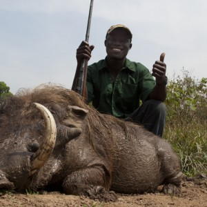 Guy and Warthog
