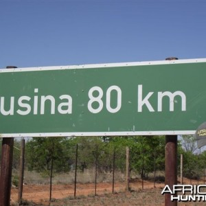 Town of Musina South Africa