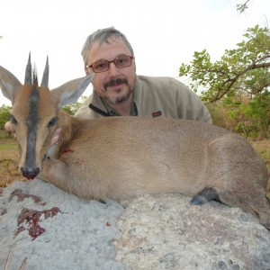 Duiker hunted in Central Africa with Club Faune