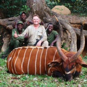Bongo 36 inch no 2 SCI Hunted with CAWA in CAR