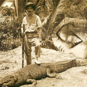 Hunting Crocodile