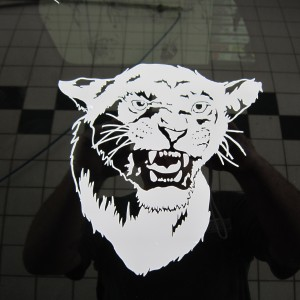 Lioness Decal Stickers