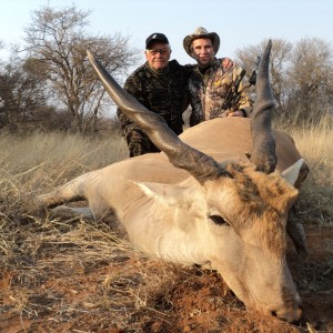 Nice eland hunted with my dad