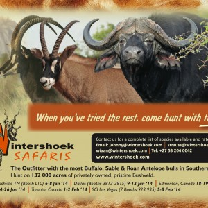 Wintershoek Safaris