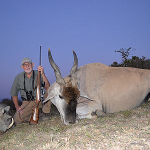 Warthog and Eland KMG Hunting Safaris