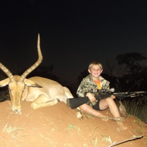 DJ Mostert with Impala