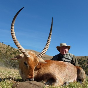 Michael J. Storinsky and his Red Lechwe