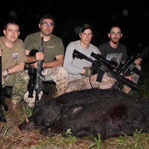 Night Vision and Thermal Pig Hunts