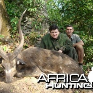 "Sitatunga Top 5 Record SCI, 31"" 4/8 & 30"" 4/8, Hunted in C.A."