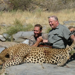 Brad Smith from Texas with Monster Leopard