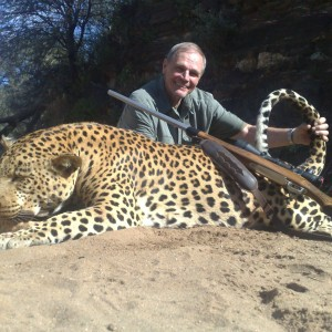 John Odusch from Texas with record cattle killer - 2009