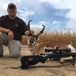 Texas panhandle pronghorn with Rockin G Ranch