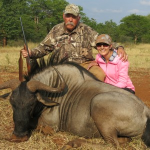 Bubye Valley Blue Wildebeest and oldest daughter