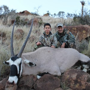 Jonathan's Gemsbok at Huntershill Safaris