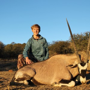 Noah's Gemsbok at Huntershill Safaris