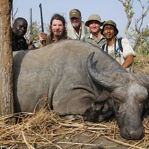 Hunting West African Savanna Buffalo Burkina Faso