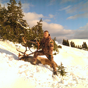Hunting Caribou in Northern BC Canada