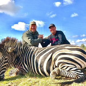 Bow Hunt Zebra in South Africa