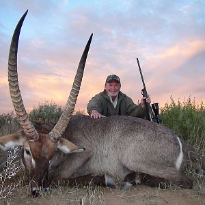 Waterbuck Namibia Hunt