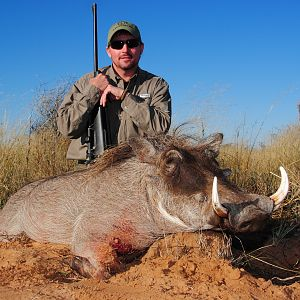 Hunting South Africa Warthog