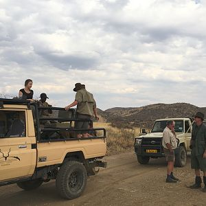 Vehicle Hunt Namibia