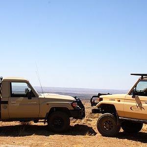 Hunt Vehicle Namibia