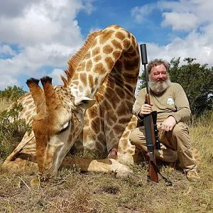 South Africa Giraffe Hunting
