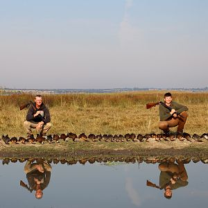 South Africa Geese Wing Shooting