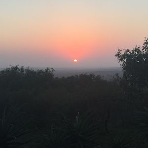 Sunrise in Zululand South Africa