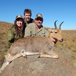 Hunting Mountain Reedbuck South Africa
