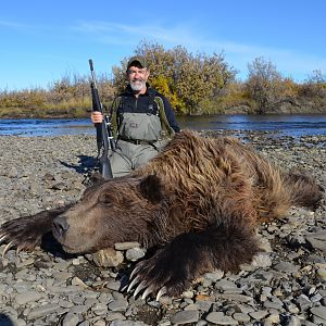 Hunting Arctic Grizzly north of Kotzebue, Alaska