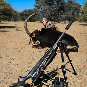 Hunting Sable Antelope