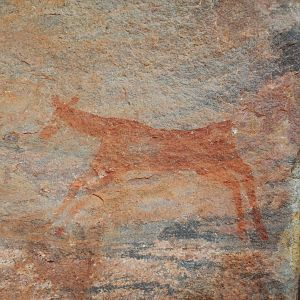 Rock Art for the Hunters long ago