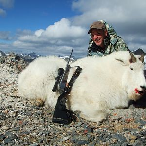 Hunting Mountain Goat