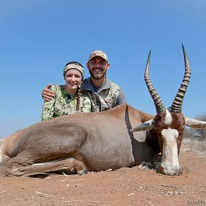 Bow Hunting Blesbok South Africa