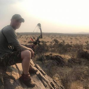 Bow Hunting in Namibia