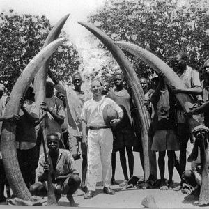Hunting Elephant in Sudan in the 20's