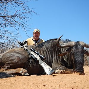 "South Africa Width +28"" Blue Wildebeest Hunting"