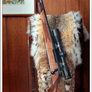 30 year old Mark V 300WM left-hand Rifle