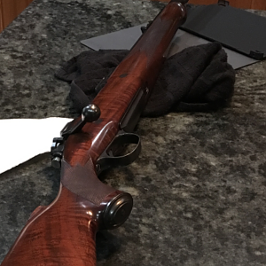 Custom 505 Gibbs built rifle South Africa 1960