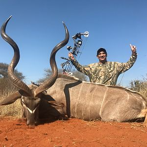 Kudu Bow Hunting South Africa