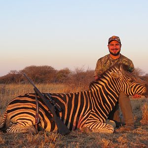 Burchell's Plain Zebra Hunting in South Africa