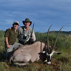 Non-Trophy Hunting Gemsbok in Namibia