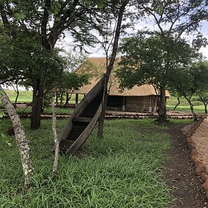 Hunting Camp in Uganda