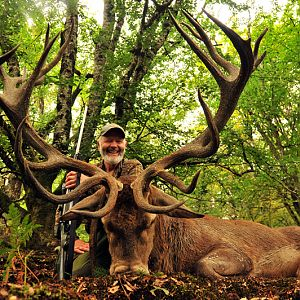 France Hunt Red Stag