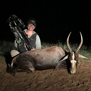 Blesbok Crossbow Hunt in South Africa