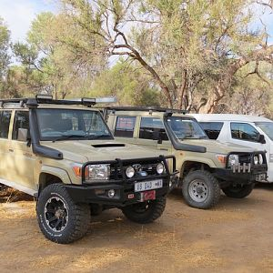 Hunting Vehicles Namibia