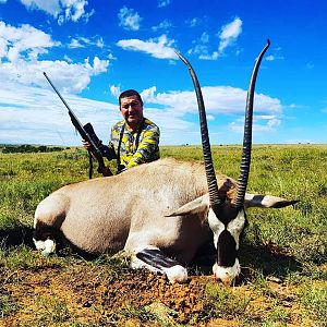 Gemsbok Hunting in South Africa