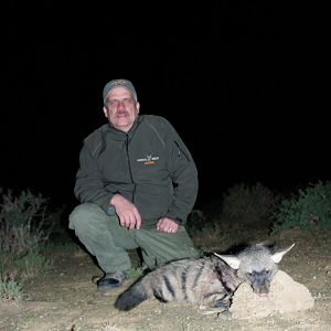 Aardwolf Hunt in South Africa