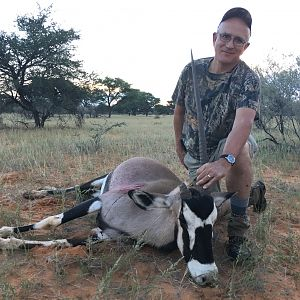 Gemsbok Hunting in Namibia
